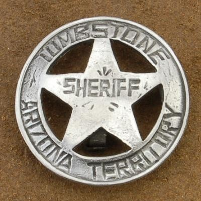 Tombstone Arizona Territory Sheriff Badge $8.88 #Alltribes