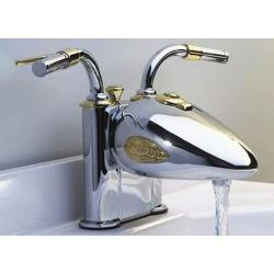 Designer Motorcycle 4-inch Centerset Lavatory Faucet