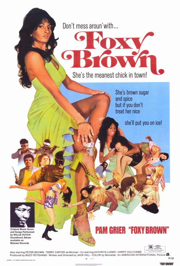 Foxy Brown 27x40 Movie Poster (1974)