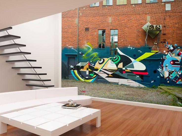 Residential Interior Design Featuring Swedish Street Artist RUBIN New York 2013