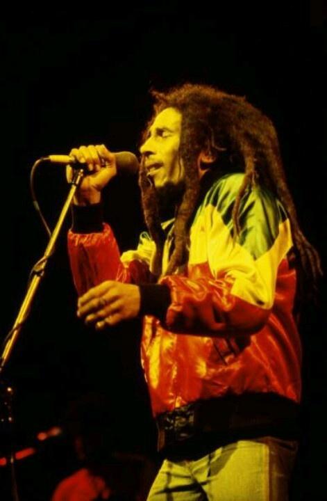 Bob Marley live in UK, July 1980