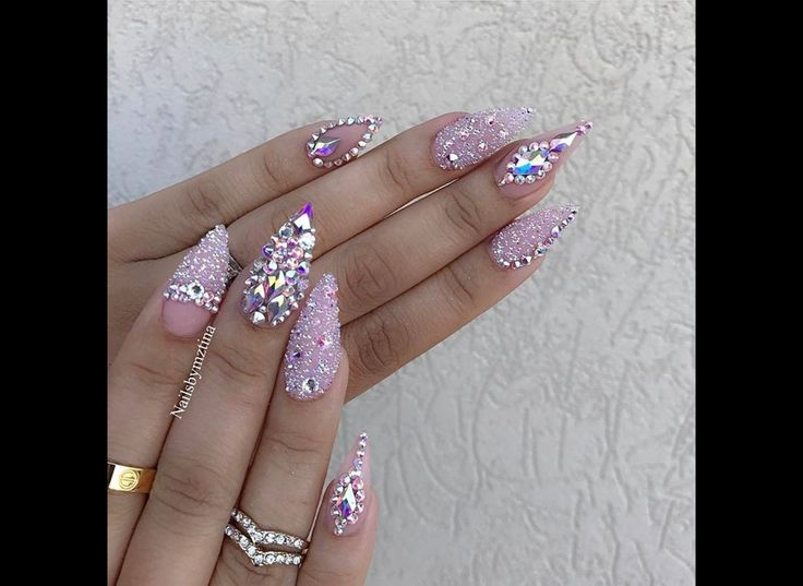 23 best nail art images on pinterest nail design cute nails and blinged out nails by prinsesfo Choice Image