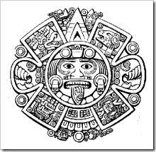 Dibujos para colorear de Aztecas | Jugar y colorear