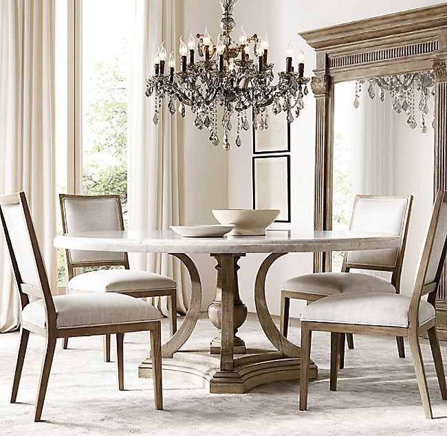 St James Marble Round Dining Table Round Marble Dining Table Luxury Dining Room Round Dinning Room Table