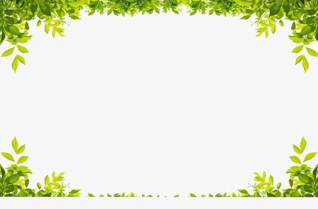 Green Frame Png Frame Clipart Frames Grass Grass Green Leaf Border Powerpoint Background Free Clip Art Borders