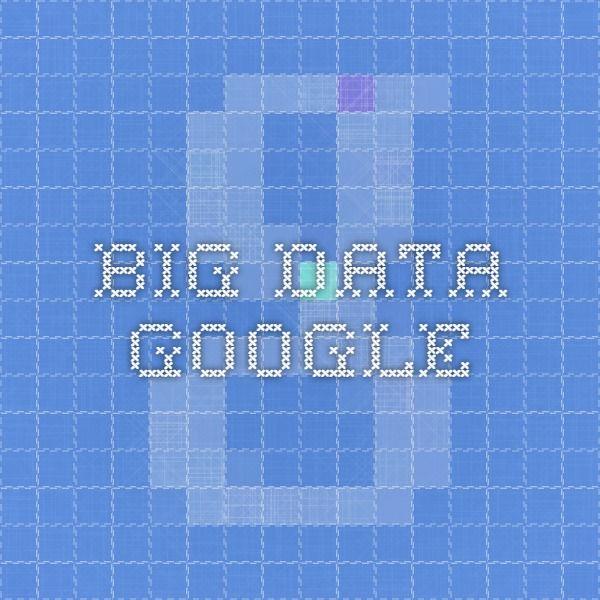 big data google