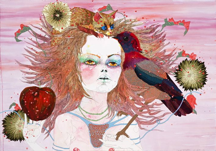 it was never about temptation by DEL KATHRYN BARTON  defiantly one of the most beautiful artworks:)