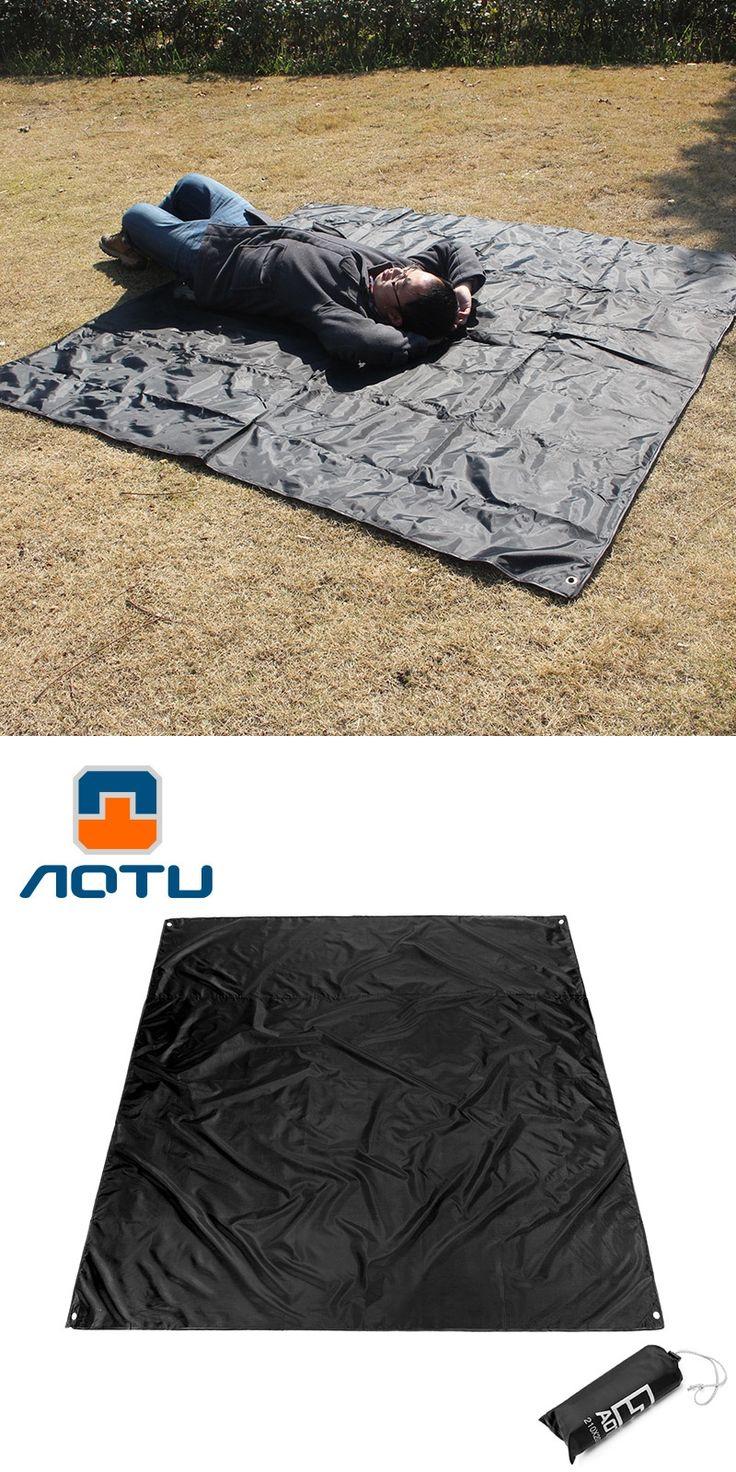 AOTU 2.1x2m Camping Mat sand free beach mat Manta Thick Oxford Mat Waterproof Picnic sandless mat Beach Tent tapis de plage