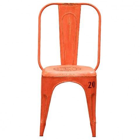Nicolai stol orange