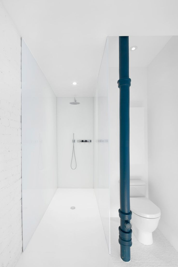 Bovard interiors bathrooms modern bathroom rubber ducky bathroom - Anne Sophie Goneau Exposes Brickwork In Montreal Apartment
