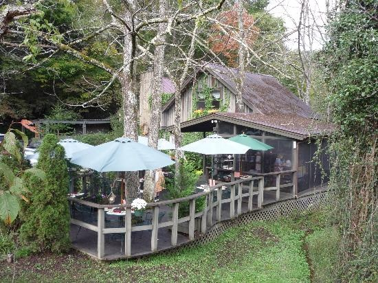 The Wild Plum Tea Room In The Arts And Crafts Community In Gatlinburg.  Maybe Just
