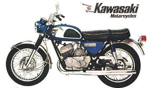 Kawasaki 350 Avenger