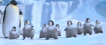 Awesome Animated Penguin Gifs at Best Animations