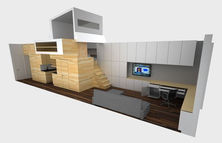 Small Studio Apartment Design In New York   iDesignArch   Interior Design, Architecture & Interior Decorating