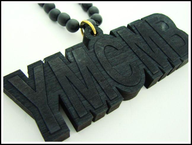 【NECKLACE】【WOOD】ウッド製 YMCMB ブラック【YMCMB】【lil wayne】【リル・ウェイン】【ヒップホップ】【アクセサリー】【ネックレス】【黒】【black】【YUNG MONEY】【ヤング・マネー】【USA】【cash money】【キャッシュ・マネー】【プレゼント】【あす楽】【楽天市場】