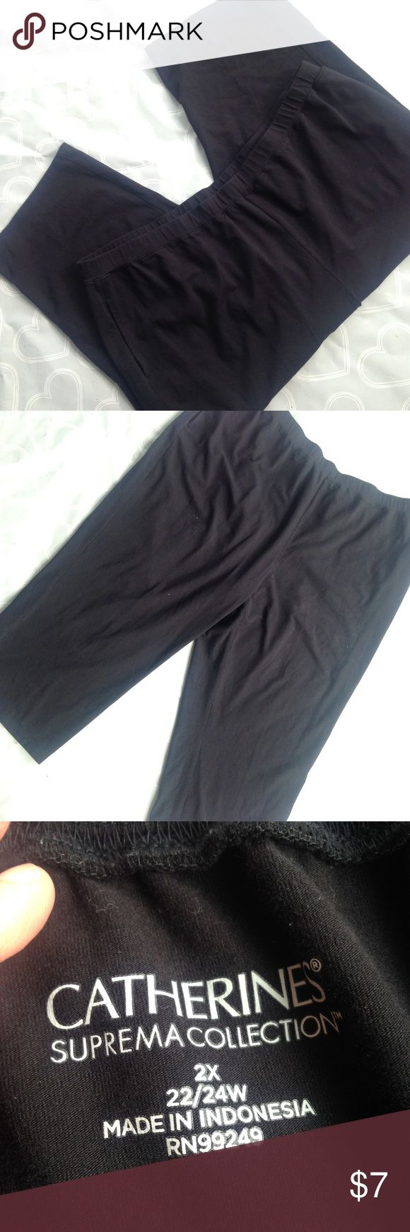 Women's capri pants size 24W EUC-- Women's capri pants size 24w- perfect for summer and comfort. Brand- Catherines Catherines Pants Capris