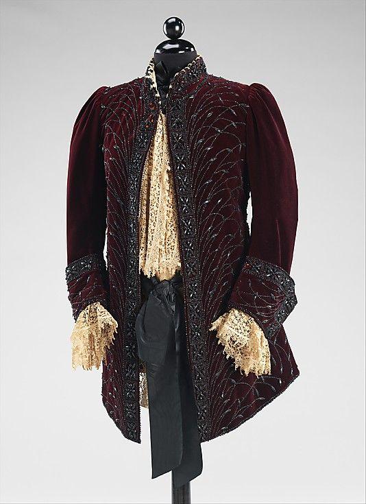 Jacket  Charles Fredrick Worth, 1890  The Metropolitan Museum of Art