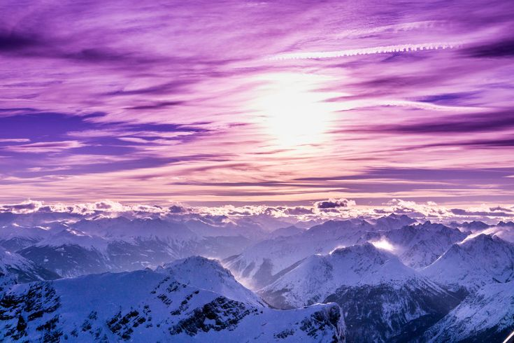 snow, winter, cold temperature, mountain, weather, nature, scenics, beauty in nature, tranquil scene, tranquility, snowcapped mountain, landscape, mountain range, sky, no people, outdoors, sunlight, frozen, sunset, day