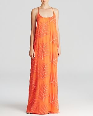 Alice + Olivia Maxi Dress - Kelly T Back Silk