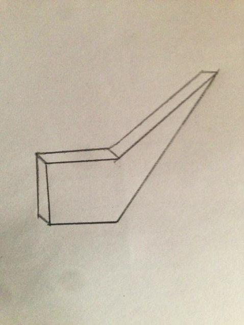 en primer lugar creé el modulo tridimensional que mas se adaptaba al pensamiento que tenia de como hacerlo.