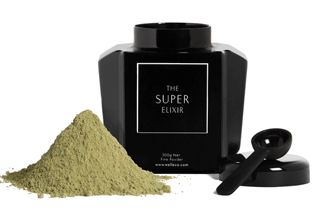 THE SUPER ELIXIR™ by WelleCo is a highly specialised alkalising greens supplement with vitamins, minerals and trace elements to assist wellness and vitality.