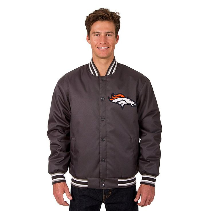 Officially Licensed NFL Poly-Twill Jacket - Patriots