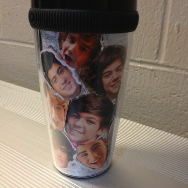 DIY One Direction cup with something else...