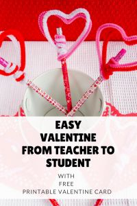 Valentine Gifts For Students From Teachers  Inexpensive And Fun!