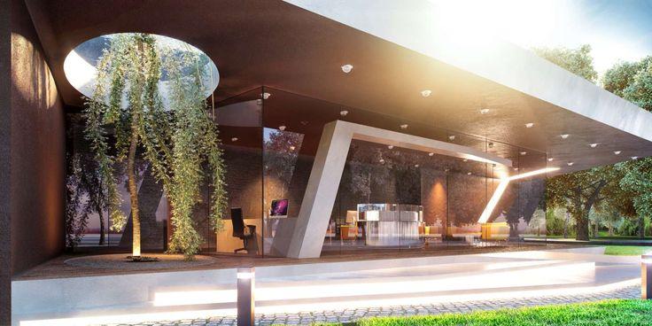 Avcılar İnşaat ile son yaptığımız projenin Satış Ofisi tasarımı. Ofis mimari tasarımında modern ve fütüristik detaylar.