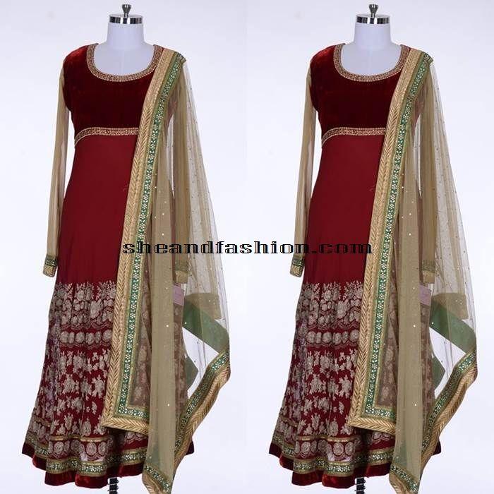 Floor Length Designer Anarkali
