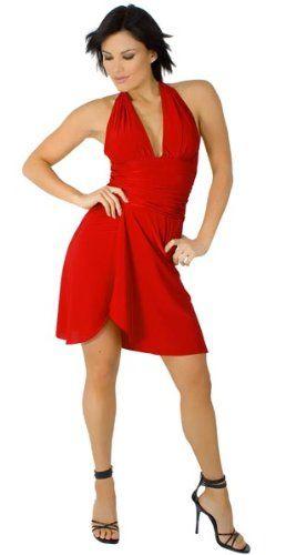 Glam Attack Womens Short Club Halter Dress