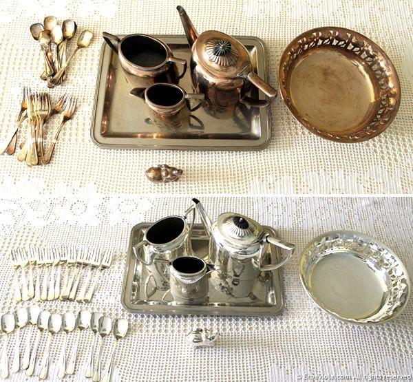 Come pulire naturalmente e senza fatica l'argento