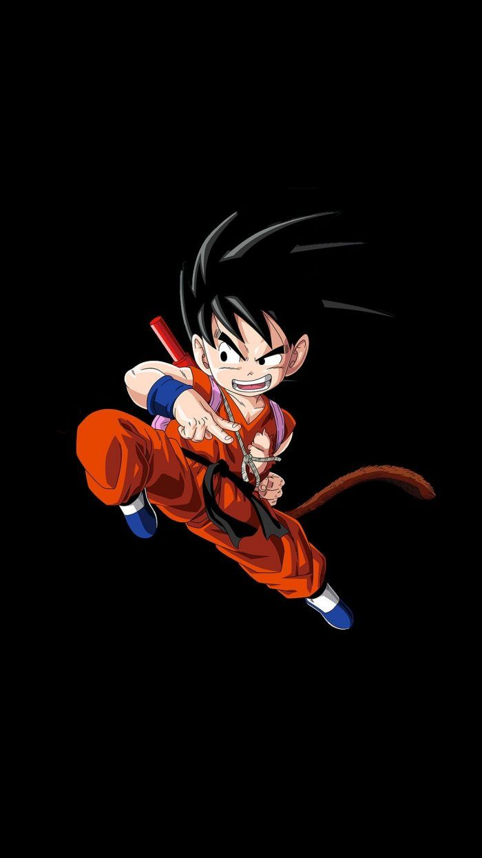 Kid Goku Wallpaper Iphone With Resolution 1080x1920 Pixel You Can