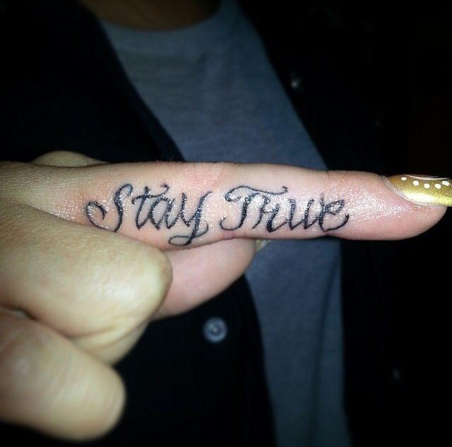 Best 25 Letter Tattoos Ideas On Pinterest: 25+ Best Ideas About Stay True Tattoo On Pinterest