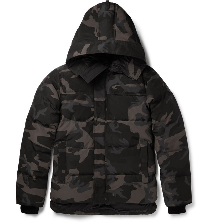 Canada Goose - Macmillan Quilted Camouflage-Print Shell Down Parka