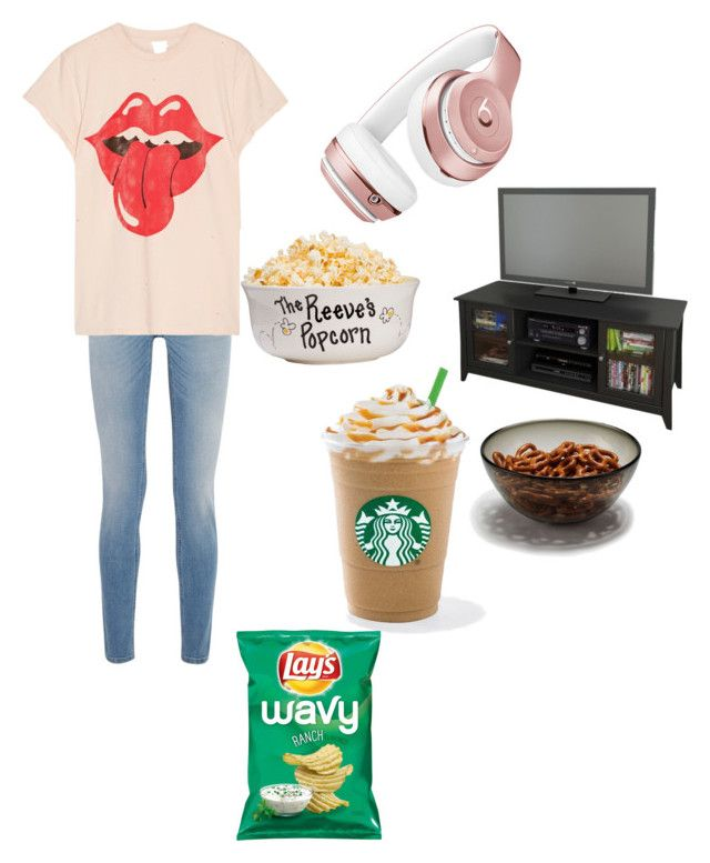 """Getting ready for your favorite movie"" by queenasma ❤ liked on Polyvore featuring Givenchy, MadeWorn, Beats by Dr. Dre and Nexera"