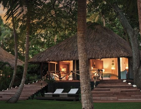 What an amazing room!   Dolphin Island in the Fiji Islands | JG Black Book of Travel