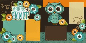 You're A Hoot-Boy Page Kit - Out on a Limb Scrapbooking