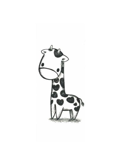 Giraffe baby with hearts!! thats so cute!!!!!!!!!!!