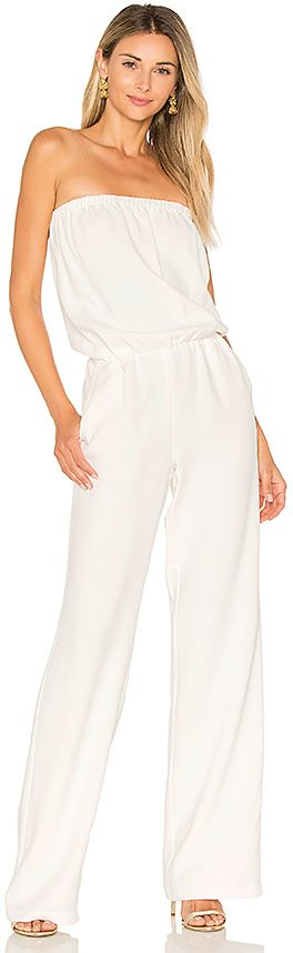 RAMY BROOK Allie Jumpsuit in White
