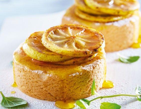 ¡Disfruta de un postre casero! Aquí la receta del pastel individual de cítricos.