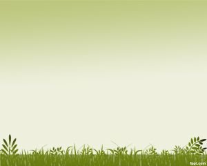 Grass Background PowerPoint Template is a PPT template with green background for…