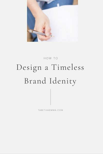 How to Design a Timeless Brand Identity