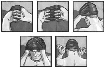How to put on a #swim cap