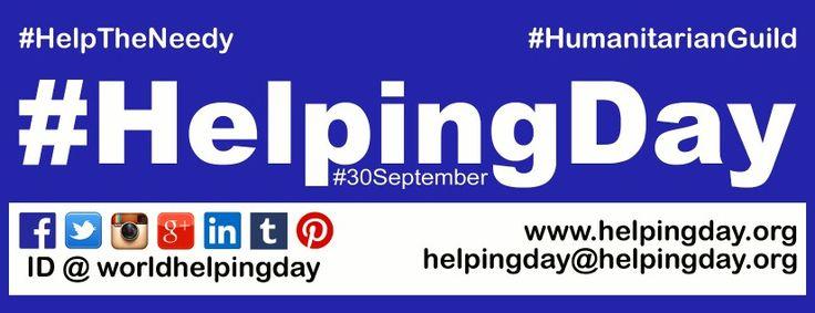 #HelpingDay #HelpTheNeedy #HelpToBeHelped