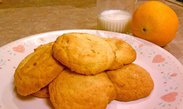 Kanipshin: Orange Sun Cookies