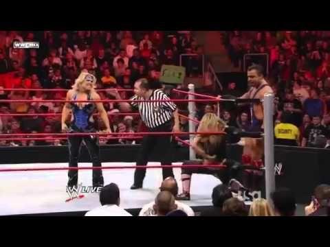 John Cena & Trish Stratus vs Santino Marella & Beth Phoenix