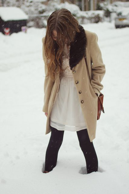 the dress, the coat!
