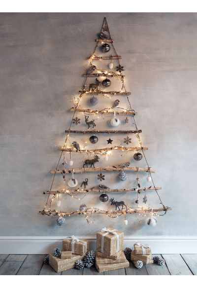 NEW Frosted Branches Hanging Tree - Natural Noel - Get The Look - Christmas
