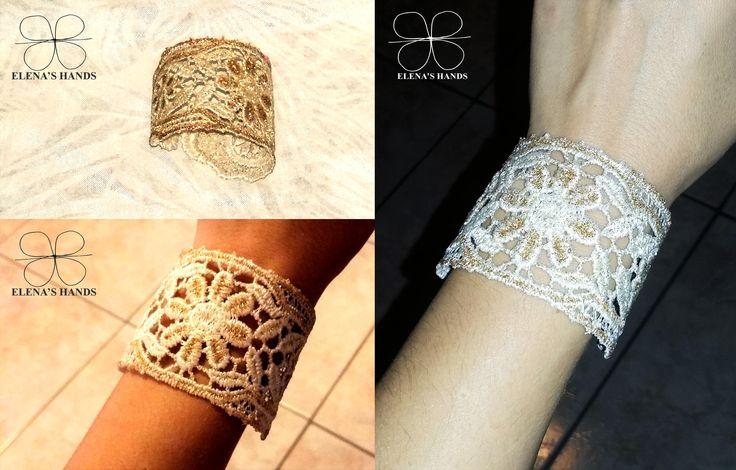 Lace bracelet #bracelet #lacebracelet #handmade #handmadejewelry